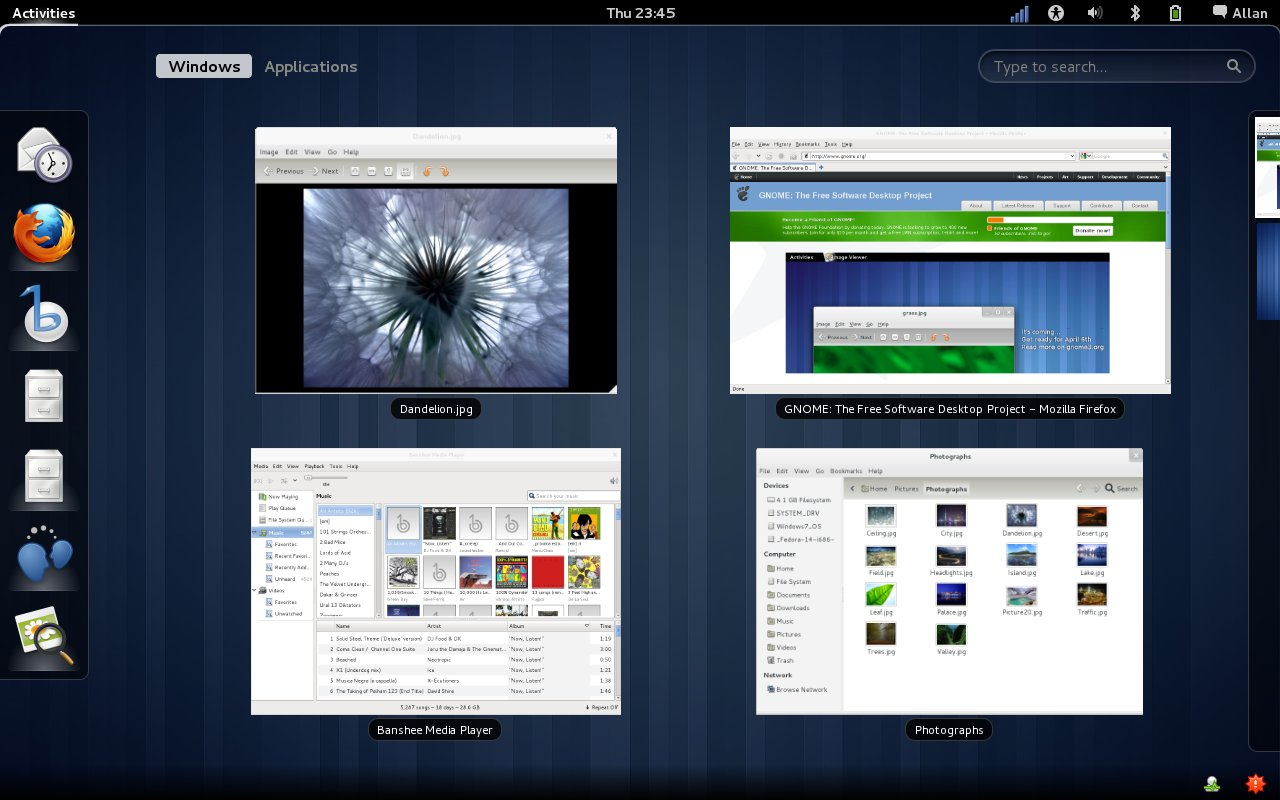 Fedora 15 Lovelock featuring the GNOME 3 Desktop is Released